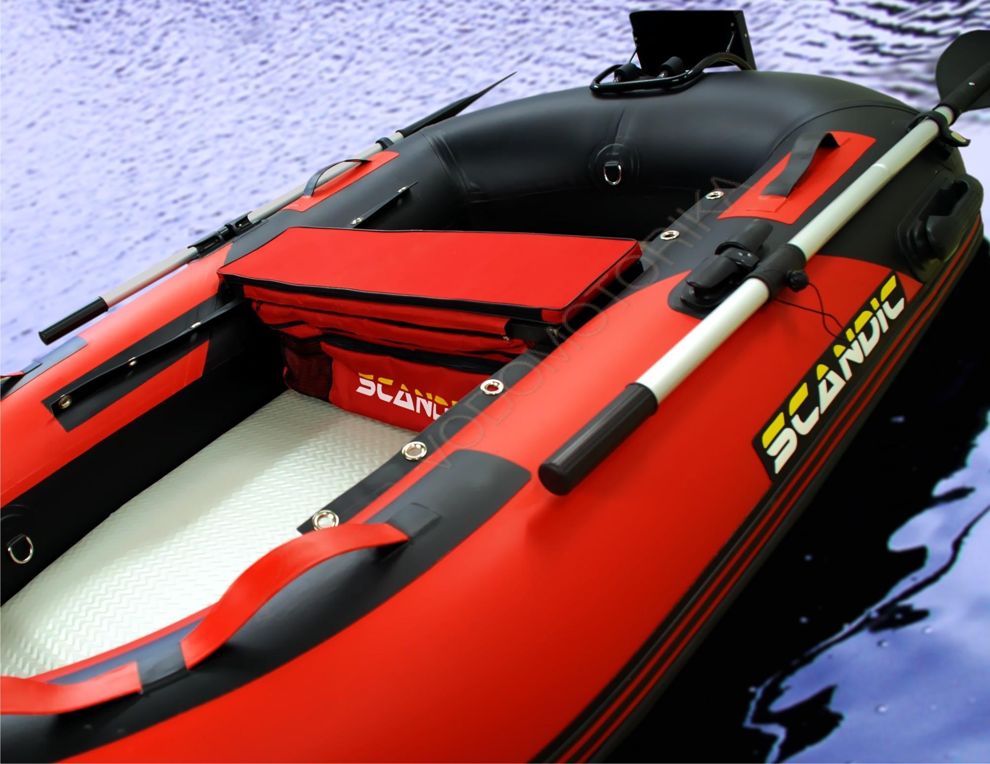 маленькая лодка пвх с мотором